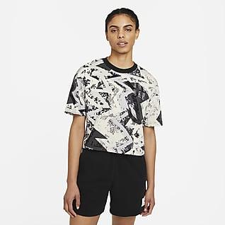 Jordan Heatwave Γυναικείο T-Shirt σε φαρδιά γραμμή