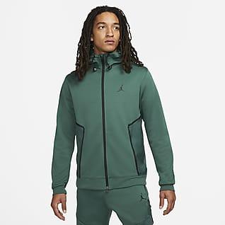 Jordan Dri-FIT Air Ανδρική φλις μπλούζα Statement με κουκούλα και φερμουάρ σε όλο το μήκος