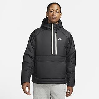 Nike Sportswear Therma-FIT Legacy Anorak med huva för män
