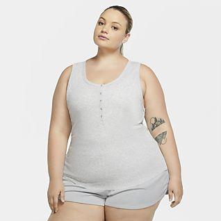 Nike Yoga Women's Henley Tank (Plus Size)