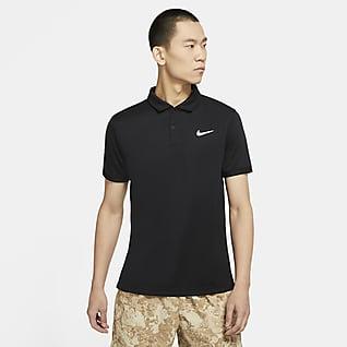 NikeCourt Dri-FIT Victory 男款網球有領衫