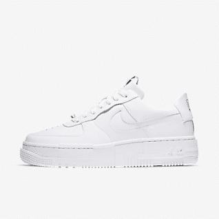 Women's White Shoes. Nike ID