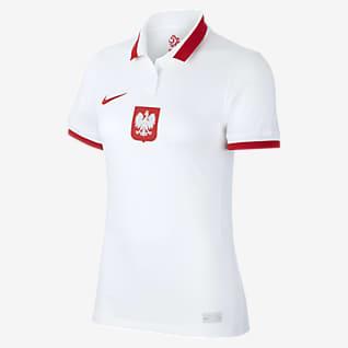 Poland 2020 Stadium Home Camiseta de fútbol para mujer
