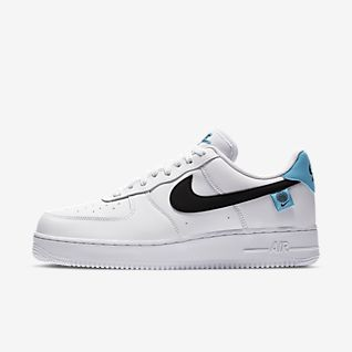 nike air force 1 low 07 nba bianche