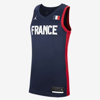 France Jordan (Road) Limited Men's Basketball Jersey