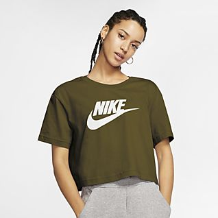 Women S Green Tops T Shirts Nike Com