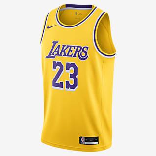 LeBron James Lakers Icon Edition 2020 Nike NBA Swingman Trikot