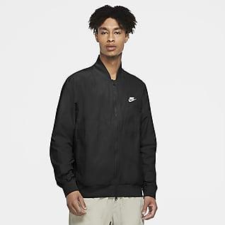 Nike Sportswear Chamarra de jugador de tejido Woven para hombre