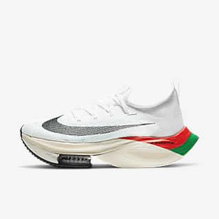 Nike Air Zoom Alphafly NEXT% Eliud Женская обувь для забегов по шоссе