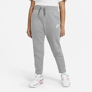 Nike Sportswear Bukse til store barn (jente) (utvidet størrelse)