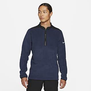 Nike Therma-FIT Victory Playera de golf de medio cierre para hombre