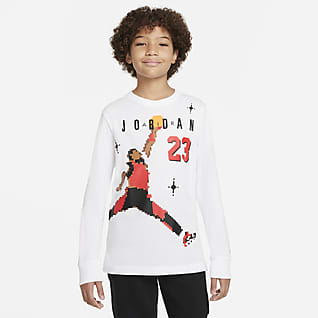 Jordan 大童(男孩)长袖T恤