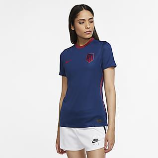Atlético de Madrid de visitante Stadium 2020/21 Camiseta de fútbol para mujer