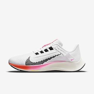 Nike Air Zoom Pegasus 38 FlyEase Men's Easy On/Off Road Running Shoes
