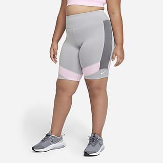 Nike Dri-FIT One Big Kids' (Girls') Bike Shorts (Extended Size)