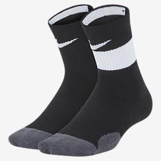 Nike Dri-FIT Elite Calcetines largos para niños talla pequeña (2 pares)