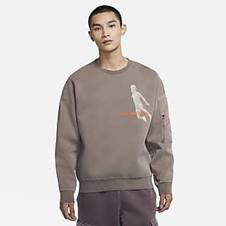 Jordan 23 Engineered Washed 男子针织圆领运动衫