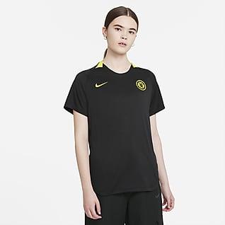 Chelsea FC Nike Dri-FIT Kısa Kollu Kadın Futbol Üstü