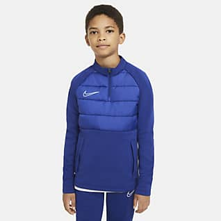 Nike Dri-FIT Academy Winter Warrior Fußball-Trainingsoberteil für ältere Kinder