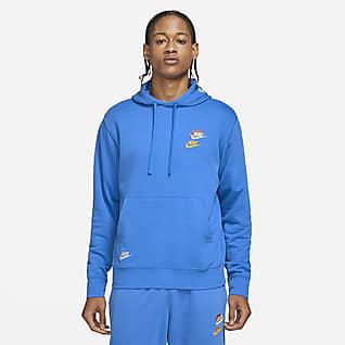 Nike Sportswear Essentials+ Huvtröja i frotté för män
