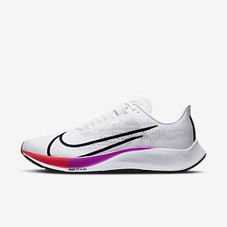 nike mens running shoes white