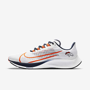 Nike Air Zoom Pegasus 37 (Denver Broncos) Running Shoe