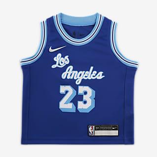 洛杉矶湖人队 (LeBron James) Classic Edition Nike NBA Swingman Jersey 婴童球衣