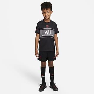 Paris Saint-Germain 2021/22 Third Nike Dri-FIT Fußballtrikot-Set für jüngere Kinder