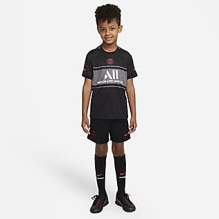 Paris Saint-Germain 2021/22 Third Younger Kids' Nike Dri-FIT Football Kit