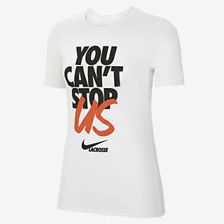 Nike Playera de Lacrosse para mujer