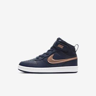Nike Court Borough Mid 2 Buty dla małych dzieci