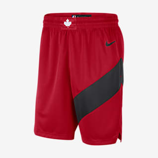 Toronto Raptors Icon Edition 2020 Short Nike NBA Swingman pour Homme