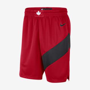 Toronto Raptors Icon Edition 2020 Shorts Swingman Nike NBA - Uomo