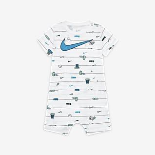Nike Baby (0-9M) Striped Romper
