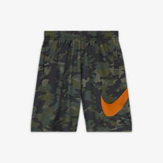 Nike Dri-FIT Little Kids' Printed Shorts