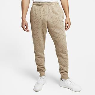Nike Sportswear Męskie dzianinowe joggery