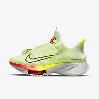 Nike Air Zoom Tempo NEXT% FlyEase Løpesko for vei til herre, enkle å ta av/på