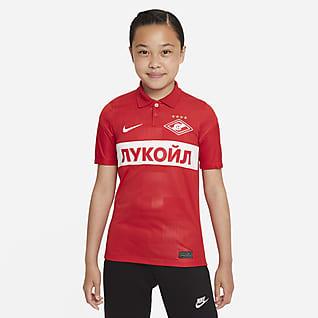 Spartak Moscow 2021/22 Stadium Home Older Kids' Nike Dri-FIT Football Shirt