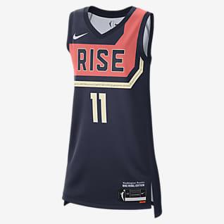 Elena Delle Donne Mystics Rebel Edition เสื้อแข่ง Nike Dri-FIT WNBA Victory