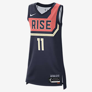 Elena Delle Donne Mystics Rebel Edition Nike Dri-FIT WNBA Victory 球衣
