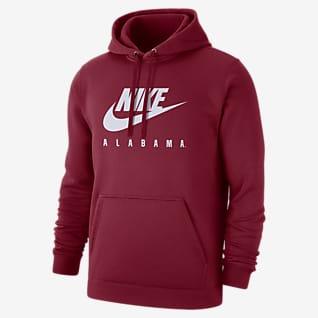 Nike College Club Fleece (Alabama) Men's Pullover Hoodie