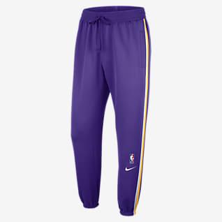 Los Angeles Lakers Calças NBA Nike Dri-FIT Showtime para homem
