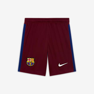 F.C. Barcelona 2020/21 Stadium Goalkeeper Older Kids' Football Shorts