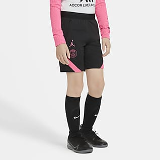 Paris Saint-Germain Strike Older Kids' Football Shorts