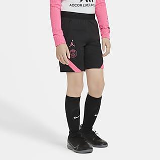 Paris Saint-Germain Strike Older Kids' Football Shorts