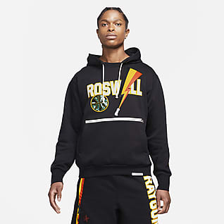 Nike Dri-FIT Rayguns Felpa da basket Premium con cappuccio - Uomo