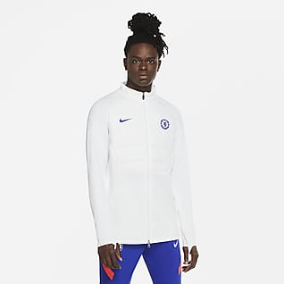Chelsea F.C. Strike Winter Warrior Men's Padded Football Drill Jacket