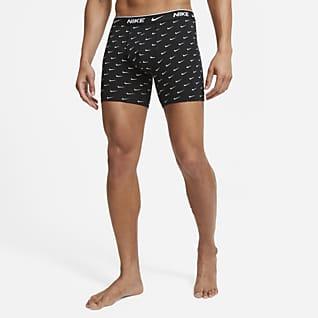 Nike Everyday Cotton Stretch Calzoncillos bóxer para hombre (paquete de 3)
