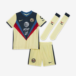Club América 2020/21 de local Kit de fútbol para niños