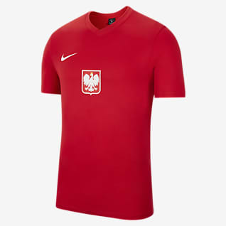 Polsko, domácí/venkovní Pánské fotbalové tričko s krátkým rukávem